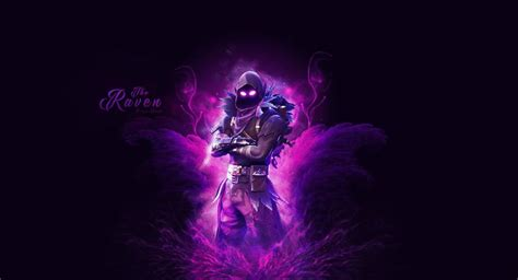 Fortnite Raven Wallpaper By Cre5po On Deviantart