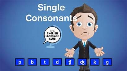 Single Consonants Sounds English Chart Language Club