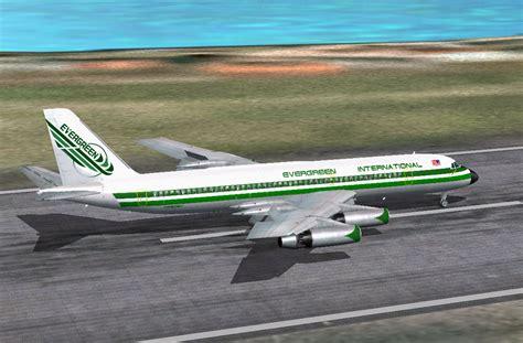 Evergreen Convair CV-990 for FS2004