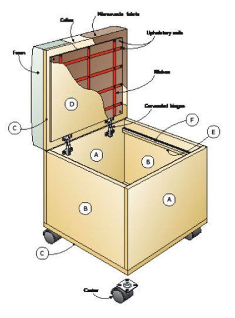 ottoman file cabinet how to make an ottoman filing system better homes and
