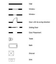 exles of floor plans architect drawings symbols