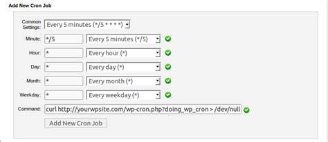 Disable Wordpress Cron And Use Real Cron Job
