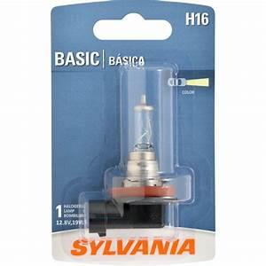 Sylvania Dot It Led Light Whiter Light Xenon Fueled Hid Attitude Sylvania H16
