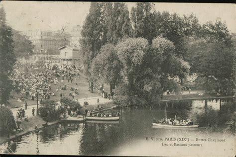 le parc des buttes chaumont 1900