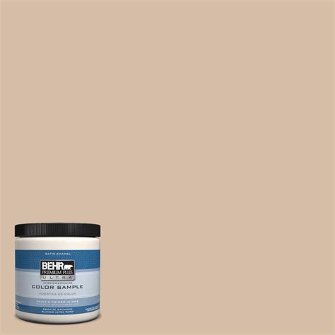 BEHR Premium Plus Ultra 8 oz #HDCMD12 Tiramisu Cream