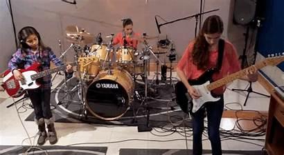 Band Metal Three Badass Play Young