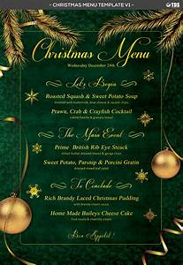 Christmas Menu Template V1 by Thats Design Store ...