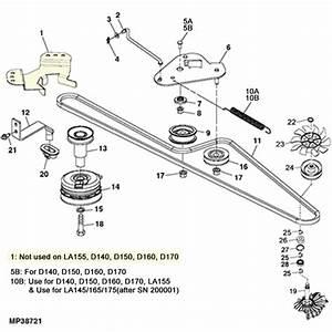 John Deere D140 Parts Diagram