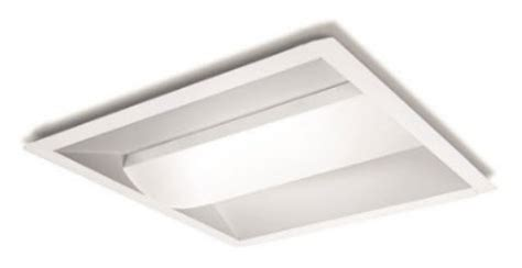 led 2x2 direct indirect center basket light fixture led