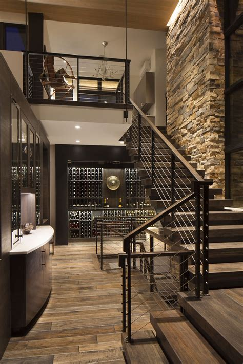 home decor modern boulder ridge mountain retreat featuring contemporary elegance