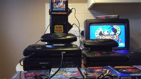 sega mega sonic mountain  genie edition console youtube