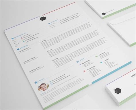 10 best free resume cv templates in ai indesign psd