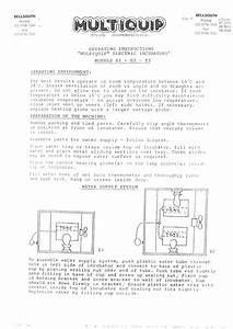 Multiquip E1  E2 And E3 Manual Old Product Not Available