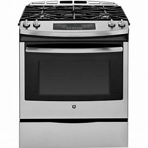 "GE Appliances - JGS650SEFSS - 30"" Slide-In Gas Range"