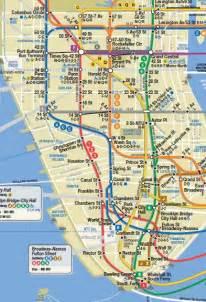 New York Subway Map Manhattan