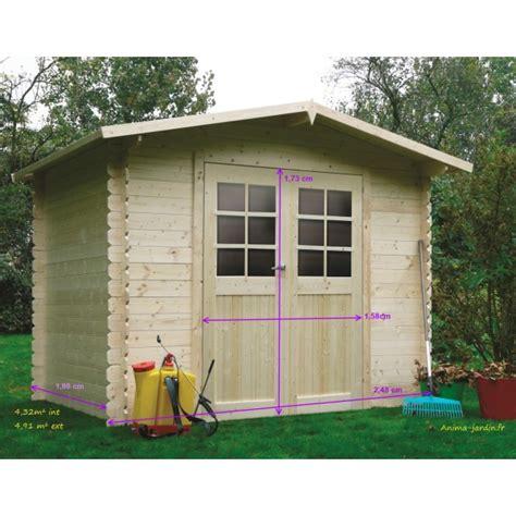 abri de jardin en bois petit abri dresden 2 portes solid pas cher