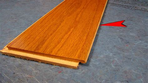 wood flooring that snaps together bruce lock and fold hardwood flooring video youtube