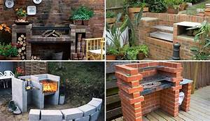 Cool DIY Backyard Brick Barbecue Ideas - Amazing DIY