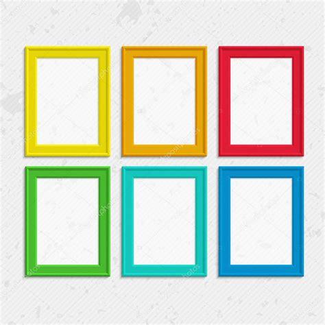 Cornici Colorate Cornici Colorate Vettoriali Stock 169 Sonik 116317724