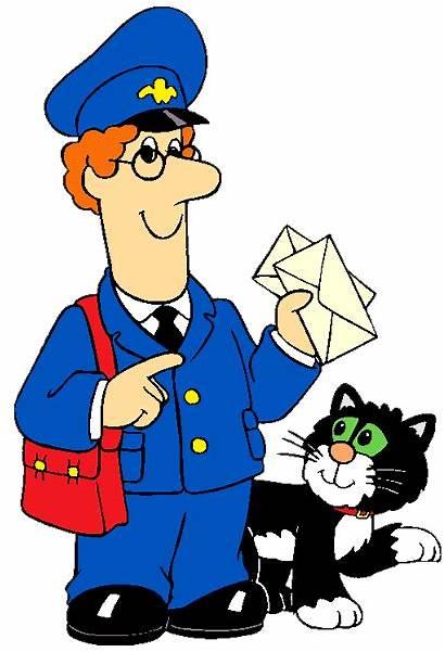 Postman Pat Cartoon Clipart Clip Community Helpers