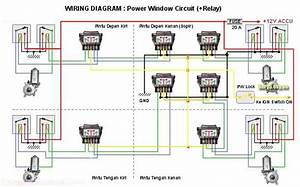 Buah Baca  Skema Power Window