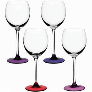 Verre A Vin Sans Pied : verre a vin coro 40 cl vendus par 4 propos par lsa angleterre ~ Teatrodelosmanantiales.com Idées de Décoration