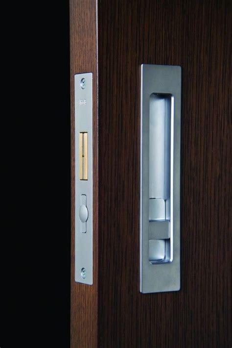 halliday baillie flush pull sliding door lock making
