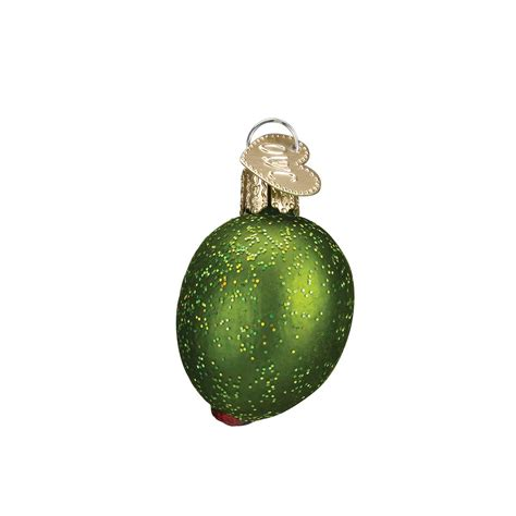 stuffed green olive ornament traditions