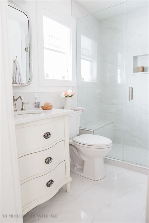 Small Bathrooms by Small Bathroom Renovation And 13 Tips To Make It Feel