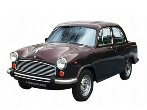 India's Most Iconic Car; the Ambassador is Now French ...