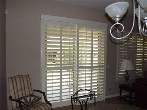 plantation shutters  sliding glass doors traditional phoenix   louver shop