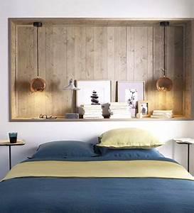 Tete De Lit Rangement : 8 petites chambres la d co craquante ~ Teatrodelosmanantiales.com Idées de Décoration