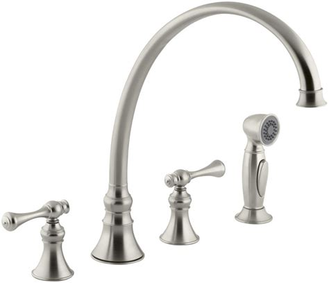 kitchen faucet repair parts faucet com k 16111 4a bn in brushed nickel by kohler