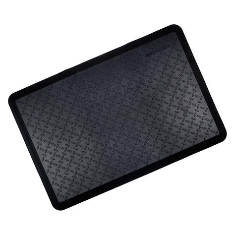 anti fatigue kitchen floor mats black cushioned ortho anti fatigue floor mat kitchen work 7457