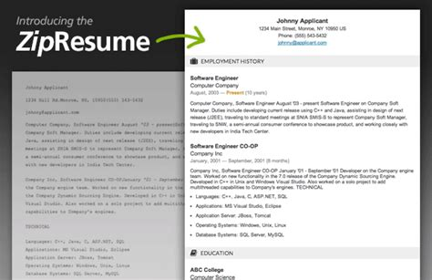 Posting Resume On Ziprecruiter by New View Resumes Like Never Before Ziprecruiter