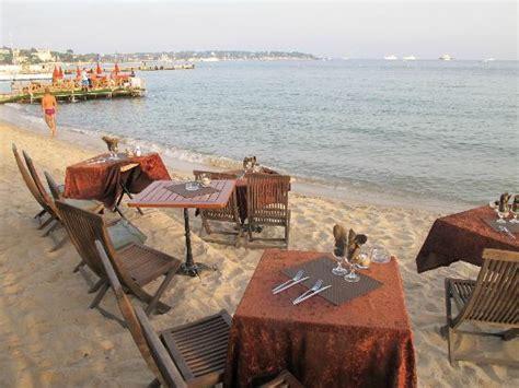 restaurant esterel plage dans antibes avec cuisine fran 231 aise restoranking fr
