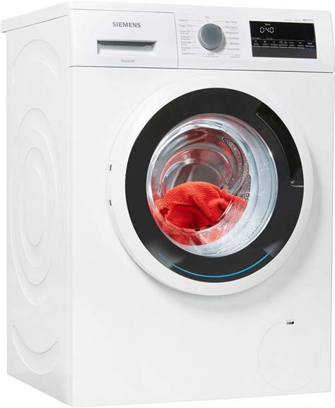 siemens waschmaschine iq300 wm14n140 6 kg 1400 u min kaufen otto