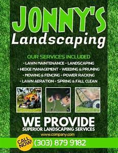 Free Campaign Poster Templates Lawn Service Flyer Template Postermywall