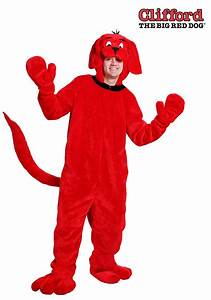 Clifford The Big Red Dog Costume For Adults