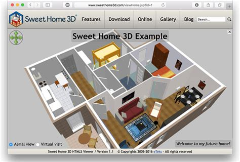 Sweet Home 3d  Exported Homes Manager