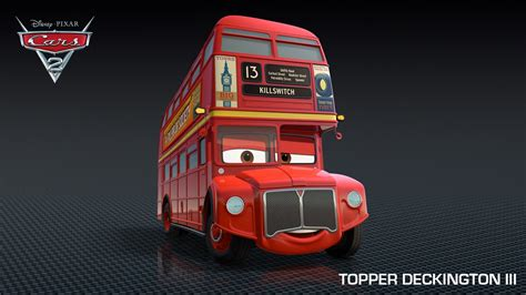 Access Pixar New Cars 2 Characters The British Lineup