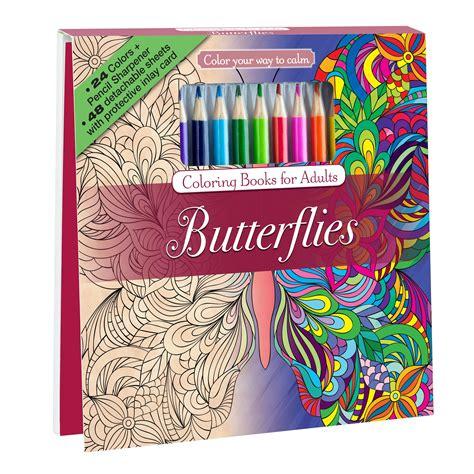 amazoncom botanical garden adult coloring book set
