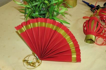 how to make a chinese fan how to make paper fans