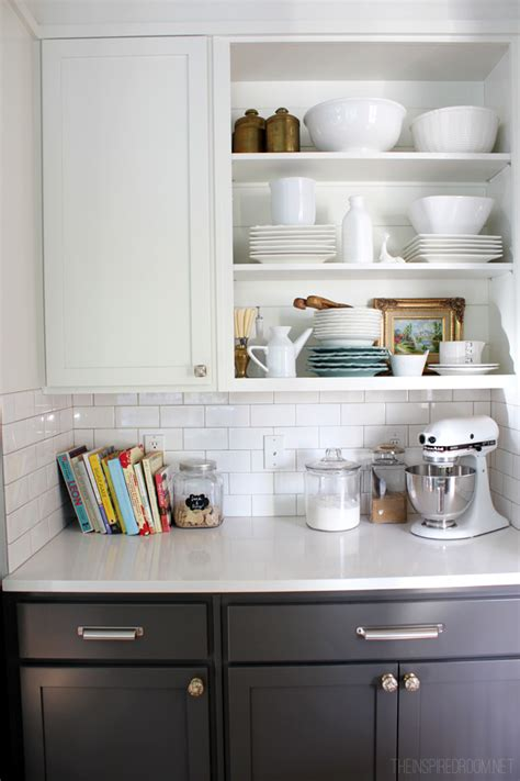 open shelving kitchen cabinets my open kitchen shelves fall nesting the inspired room 3750