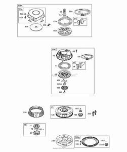 Briggs And Stratton Pull Start Assembly Diagram