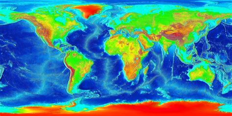 World Map: How Geology Shapes The Map Of The World
