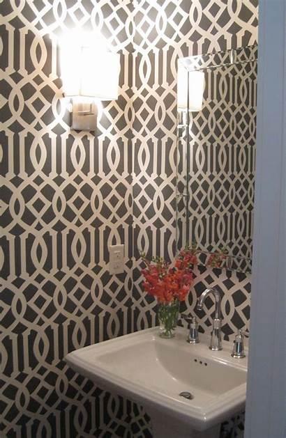 Powder Modern Fabric Wallpapers Dramatic Paint Seven