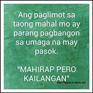 Tagalog Sad Love Quotes : Paglimot sa Mahal