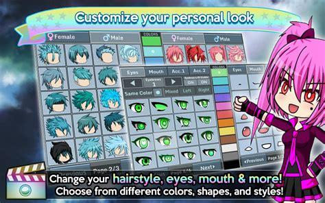 gacha studio anime dress up on pc with bluestacks