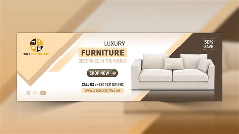 furniture web banner design psd graphicsfamily